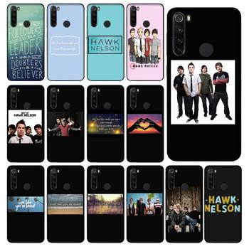 FHNBLJ Hawk Nelson songs lyrics Soft Rubber Phone case shell Cover for Xiaomi Redmi 5 5Plus 6 6A 4X 7 8 Note 5 5A 7 8 8Pro image