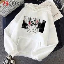 Hot Japanese Anime Hunter X Hunter Hoodies Men Kawaii Killua Cartoon Hisoka Graphic Streetwear Unisex Tops Sweatshirts Male