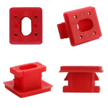 For BMW E46/E65/E66/E83N Interior Panel Fixing Buckles 20pcs/set Dashboard Dash Trim Strip Clips Red Insert Grommets Fit image