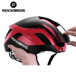 ROCKBROS integralnie formowane pneumatyczne jazda na rowerze kaski kask na rower górski 3 w 1 MTB szosowe kaski rowerowe męskie kask bezpieczeństwa