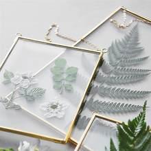 Cadre Photo décoratif en verre, porte-échantillon, cadre Photo suspendu, décoration murale