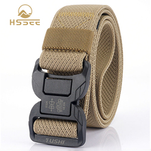 Tactical-Belt Tightly Military Army HSSEE for Men Stretch Woven Official Authentic