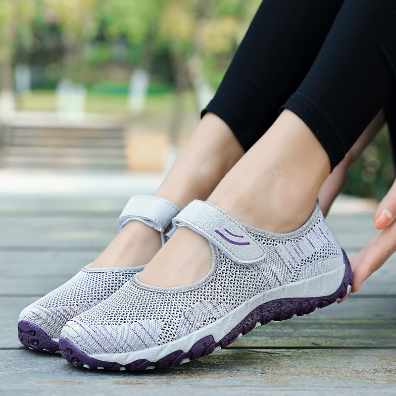 Casual Vulcanize shoes woman sneakers 2021 breathable mesh summer platform shoes female sneakers plus size zapatillas mujer