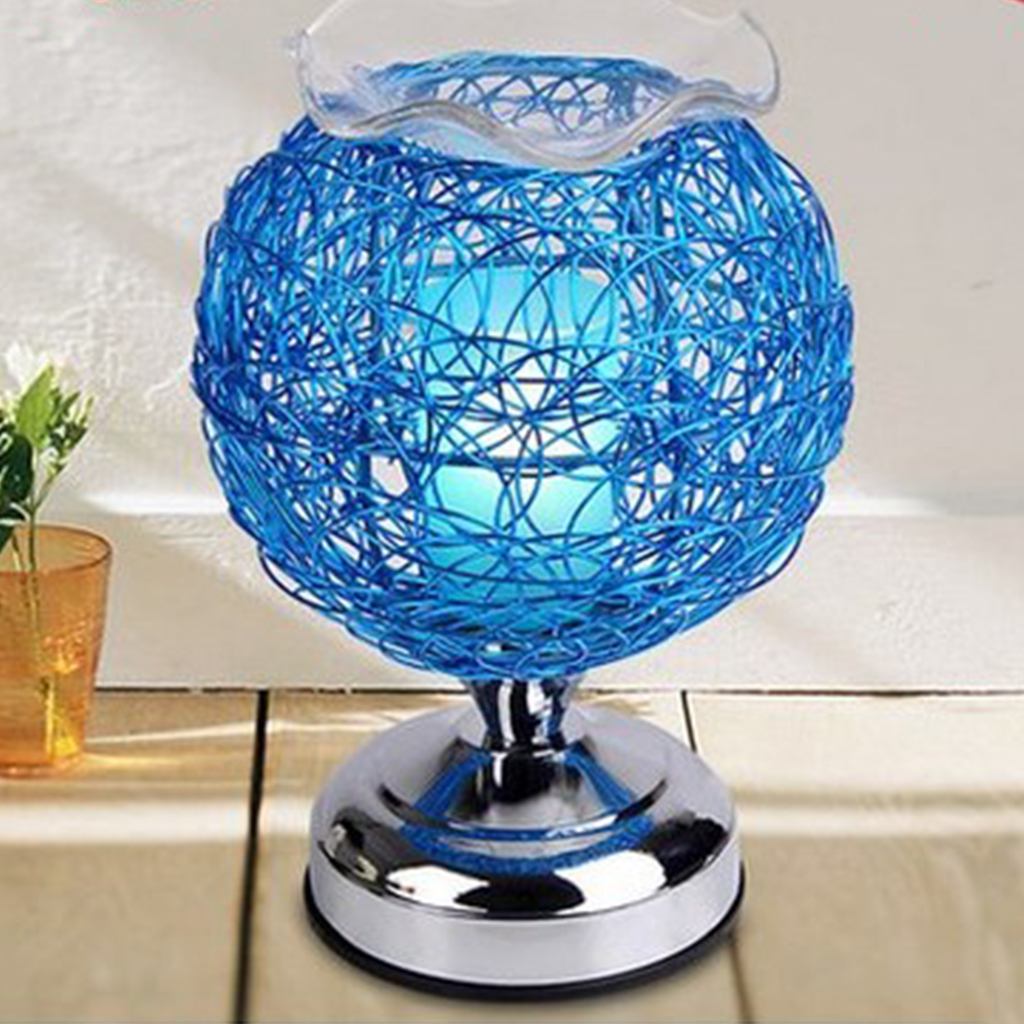 Creative Table Lamp Dimmable Aromatherapy Nest Table Light 220V Electric Fragrance Essential Oil Night Light Bedroom Home Decor