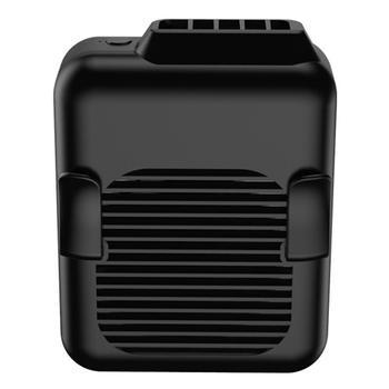 Waist Fan, Portable Handsfree USB Fan Summer Portable Mini USB 3 Gears Hanging Lanyard Clip On Belt Air Cooling Fan