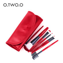 O.TWO.O Makeup Brushes Set Eye Shadow Eyeliner Eyelash Eyebrow Brushes For Make up Professional Eyeshadow Brush 7pcs/lot(China)