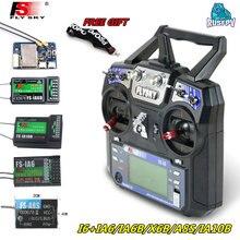 Flysky FS-i6 i6 2.4g 6ch afhds 2a transmissor de rádio com FS-iA6 ia6b a8s x6b ia10b receptor para rc zangão fpv avião helicóptero