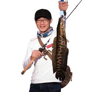 Image 5 - صنارة صيد سمك من الكربون لصب الطعم الثقيل بطول 68 2.05 متر بطول 2 قسم صنارة صيد سمك السلور في المياه العذبة رأس صيد السمك
