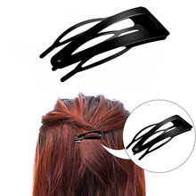 10 штук с Двойным Зажимом Заколки для волос металлической пряжкой