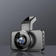 Maiyue estrela ultra hd 1296p lente dupla dvr carro 3 polegada wi fi adas gravador de vídeo do carro 24h visão noturna vigilância gravador