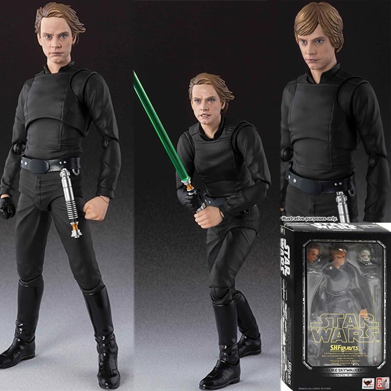 SHF Star Wars Luke Skywalker PVC Action Figure Model Toy Doll Gift 15cm