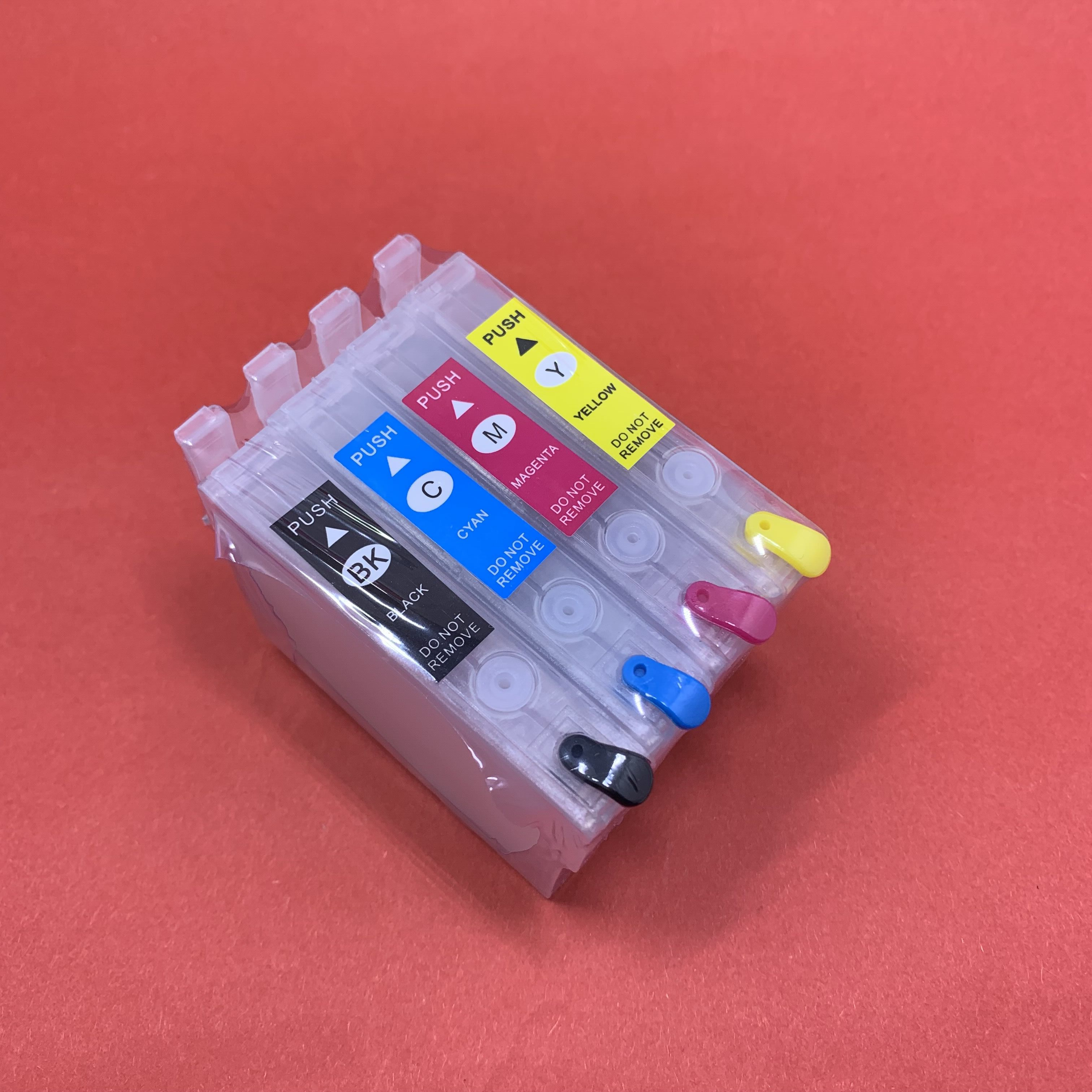 YOTAT 29XL T29 Refillable ink cartridges T2991 T2992 T2993 T2994 for <font><b>Epson</b></font> XP342 <font><b>XP345</b></font> XP442 XP445 XP-445 XP-345 XP-342 image