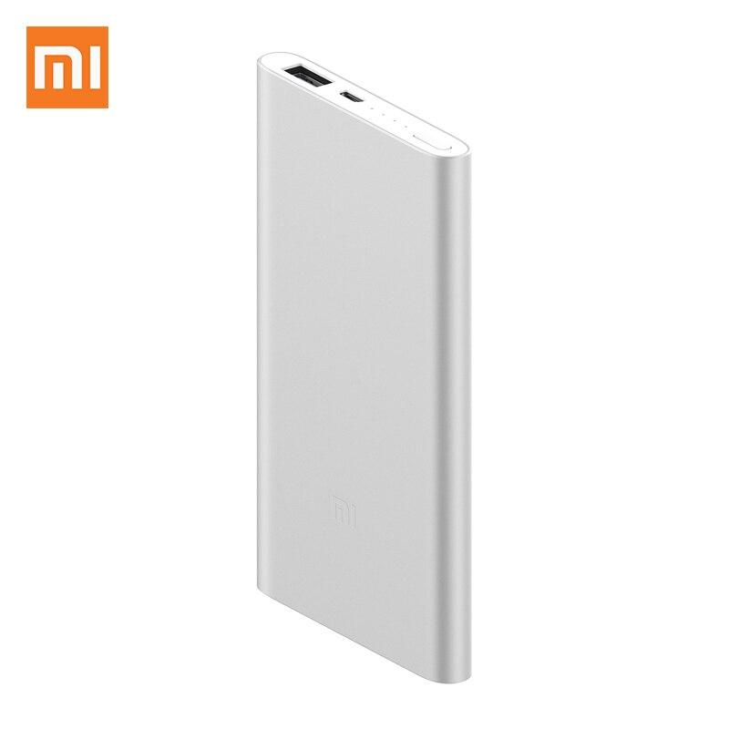 Xiaomi Power Bank 2 5000mAh PLM10ZM mi Powerbank 5000 batería externa de carga portátil Poverbank A prueba de golpes a prueba Slim batería carcasa para iPhone 6 6S 7 8 Plus Banco Charing Cross casos armadura batería de respaldo cargador 5000 mAh