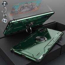 สำหรับ Samsung Galaxy หมายเหตุ 10 Plus โลหะอลูมิเนียม ARMOR แหวนสำหรับ Samsung Note 10 S10 PLUS S20 Ultra