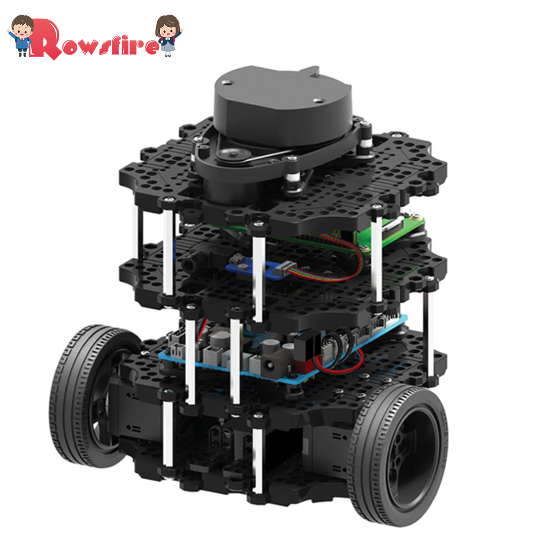 Super Quality 1 Set Programmable ROS Robot Automatic Navigation SLAM Car Turtlebot3-Burger Pi3 Kit