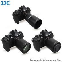 JJC Reversible Camera Lens Hood Shade for OLYMPUS M.ZUIKO DIGITAL ED 60mm F2.8 Macro Lens Replaces Olympus LH 49 Lens Hood Tube
