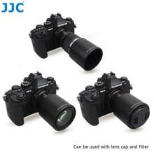 Jjc capa de lente de câmera reversível para olympus m. zuiko tubo de lente digital ed, 60mm f2.8 lente macro substituição olympus LH-49