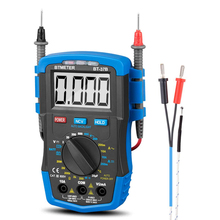Digital Multimeter HP-37B (-4~1832℉) measuring AC/DC Volt Current Ohm Amp Capacitor Diode Battery and Temp test Meter