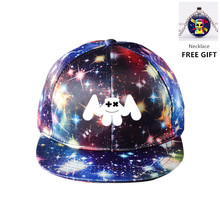 New/Dj Marshmallow/ Hat Baseball Canvas Cap /Hip Hop/ Summer  Kids Women&Men /Marshmallow/