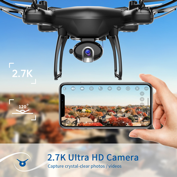 SNAPTAIN SP650 Drone profession Camera 2.7K HD Video Camera Drone Voice Gesture Control Wide Angle Foldable Quadcopter RC dron 2