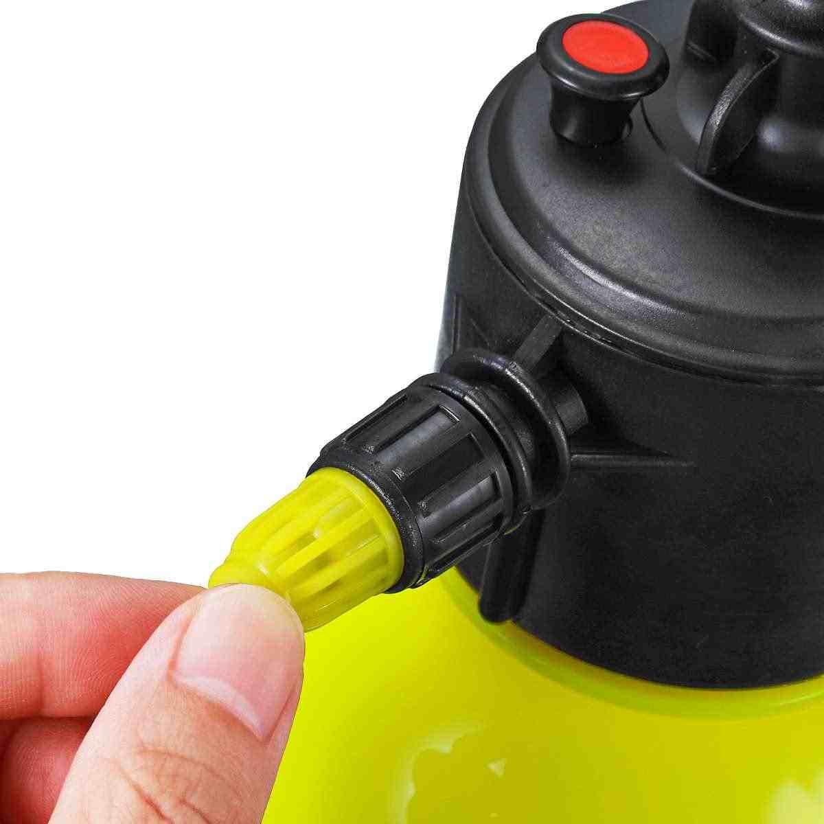 يده ضغط البخاخ زجاجة 2L حديقة رذاذ غلاية مصنع الري مسقاة البستنة أداة 3 ألوان قابل للتعديل فوهة