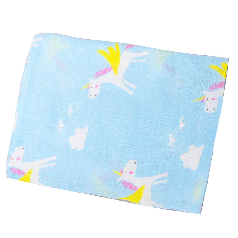 Baby Blanket Muslin Wrap Newborn Swaddles Plat Mat Baby Photography Blankets Mantas De Bebes Infant Stroller Cover 115*115cm