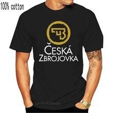 Yeni Cz abd Ceska Zbrojovka ateşli silahlar silahlar Logo siyah T gömlek S 5Xl 010654