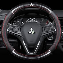 Steering-Wheel-Covers Interior-Accessories Attrage Carbon-Fiber Outlander Car-Styling