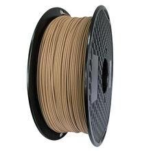 1 kg de madeira pla 3d filamento da impressora 1.75mm 1000g/500g/250g cor de madeira escura 3d materiais de impressão fornecer pla dropshipping