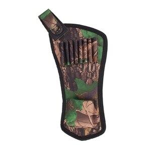 Держатель для стрел сумка портативный колчан Ткань Оксфорд лук стрелы сумка Пояс Колчан трубки ремень Охота стрельба из лука аксессуары