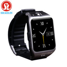 Hot New LG118 Bluetooth smart watch zegarek wbudowany NFC uchwyt na aparat karty SIM 1.54 cal ekran HD dla systemu Android iPhone xiaomi(China)