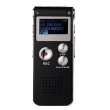 Цифровой 8 Гб диктофон USB диктофон аудио диктофон с WMA/WAV/MP3/OGG Встроенный микрофон