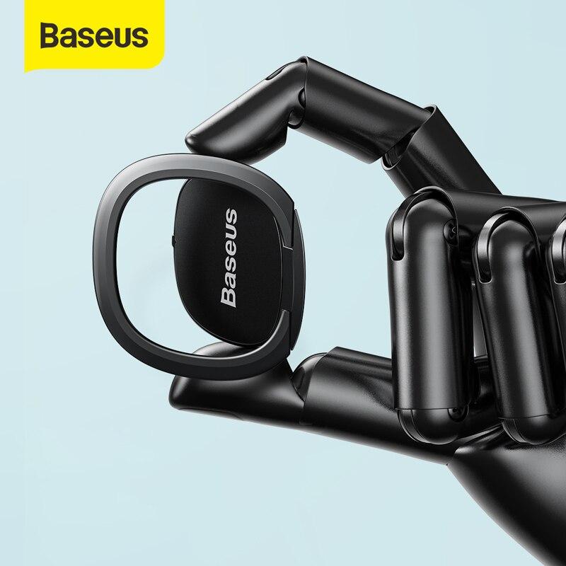 Support de bague de doigt Baseus pour iPhone 11 Pro Max 360 degrés Rotation support de téléphone support de bague Portable tablette téléphone Portable
