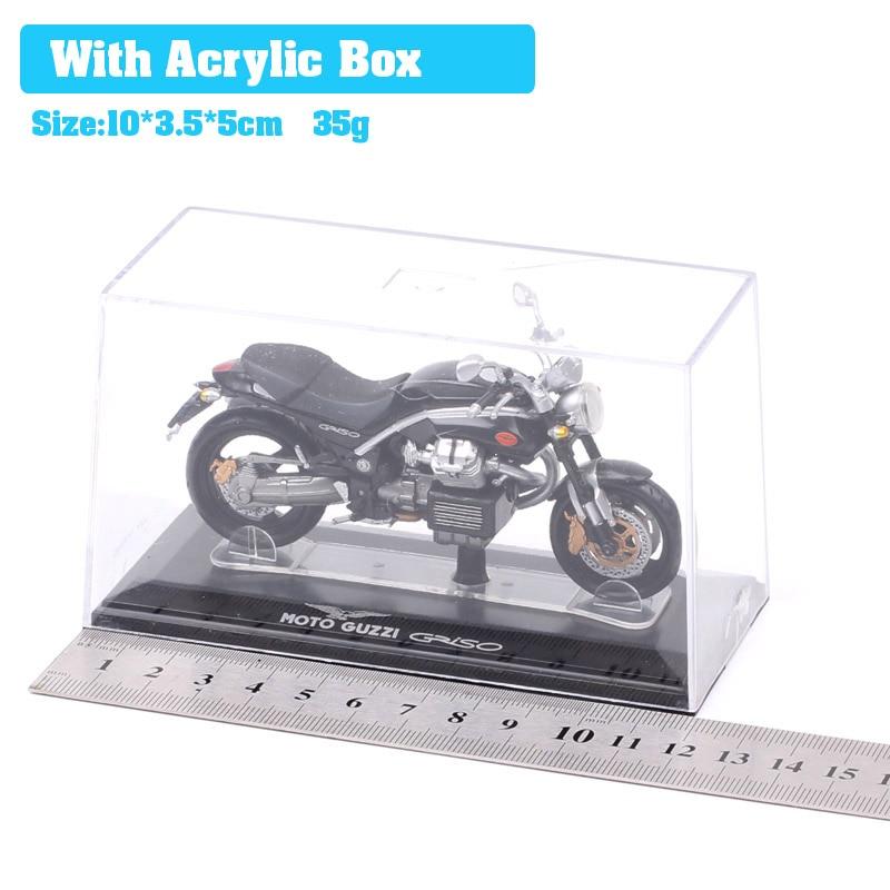 Children s Mini 1 22 scale Starline Italeri MG Moto Guzzi Griso motorbike Diecasts Toy Vehicles