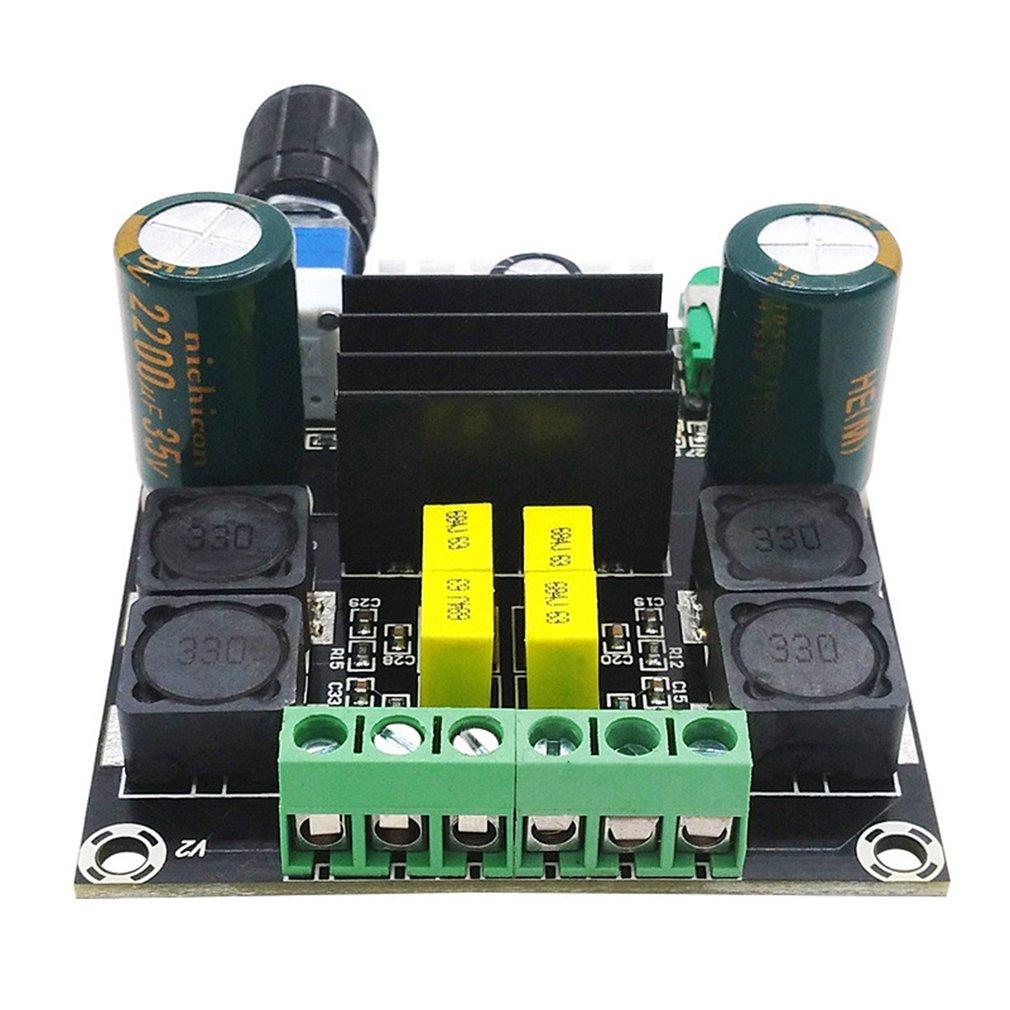 DC 12V 50W +50W TPA3116D2 High Power Digital Audio Power Amplifier Board Blue Hardware High Tech Module Development Board