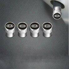 4 шт. Авто клапан для шин кепки стикеры кепки пылезащитный колпачок для шины для Kia Sportage Kia Ceed Rio Picanto Sorento Рио 3 Рио 4 душа K2 K3 аксессуары