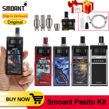 Оригинальный Smoant Pasito pod vape 1100 мАч Комплект Топ Регулируемый контроль потока воздуха 3 мл pod DTL/MTL/RBA катушка электронная сигарета VS Lost Vape Orion Kit