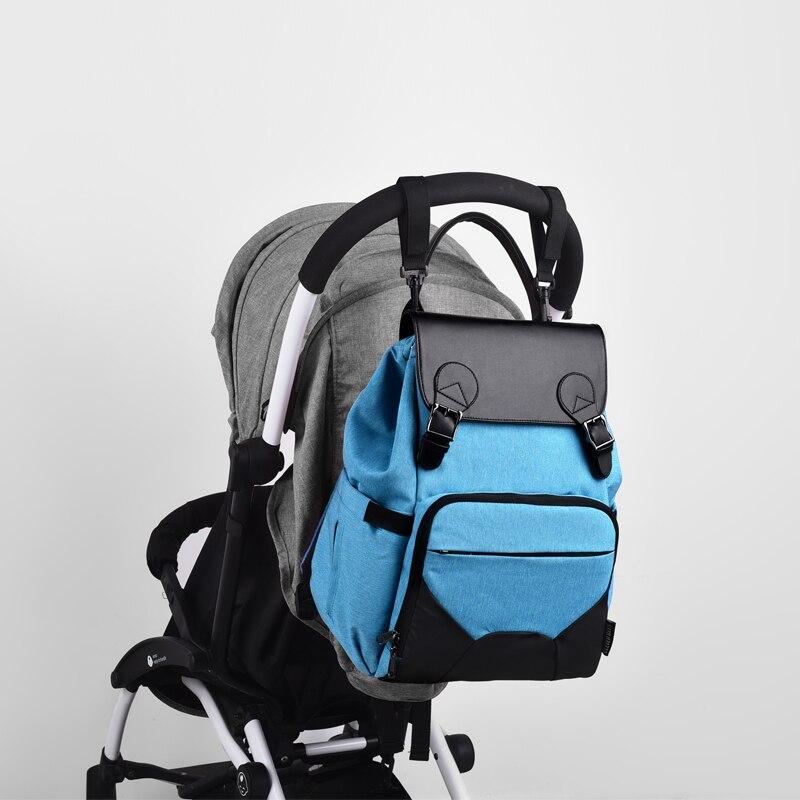 Maternity Bag For Stroller Backpack Mummy Baby Diaper Nappy Bag Handbag Nursing Bottle Shoulder Bags BLF001