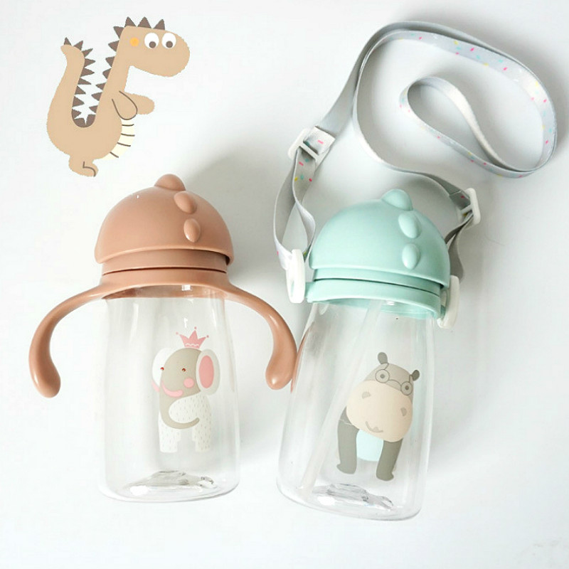Convenient Toddler Kettle for Kids Children Straw Cup Tasteless Sealed Leak-Proof Design Easy to Use Non-Toxic Infant Straw Cup