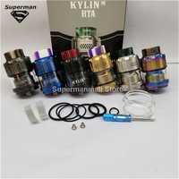 Kylin RTA Einstellbar Tank Zerstäuber 3ml 4,5 ml Kapazität mit 0.15ohm 0.2ohm Mesh Spulen Waben Luftstrom für Anti- undichten
