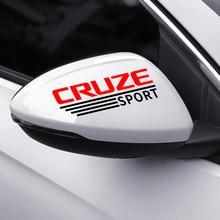 Para Chevrolet Cruze 1.5L 1,4 T de Premier sedán FWD ¿LTZ 2019 Nuevo 2020 accesorios 2 uds pegatinas de espejo retrovisor de coche