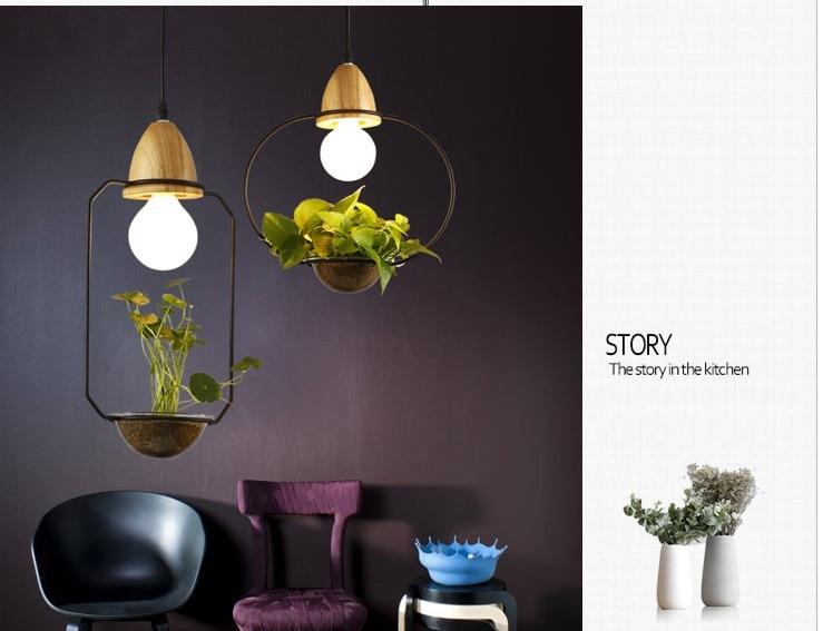 lukloy planta pote luz pingente pendurado luminarias 04