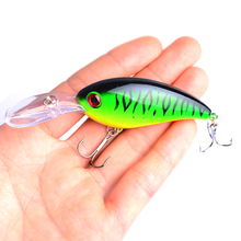1pcs Crank Fishing Lure Wobblers Artificial Hard Baits 6# Treble Hook 10cm/14.2g Jerkbait For Bass Carp Tackle Pesca