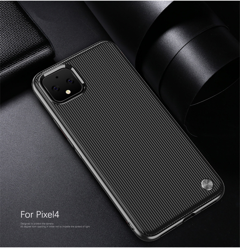 Carbon Fiber Soft Case For Google Pixel4 Pixel 4 XL 4XL Striped TPU Cover Coque For Google Pixel 3A 3AXL 3A Xl Luxury Case