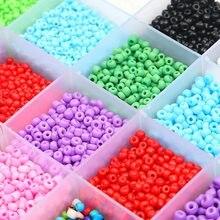 150-1000 uds/2/3/4mm encanto checo cuentas de semilla de cristal DIY pulsera collar de perlas para fabricación de joyería DIY collar pendiente