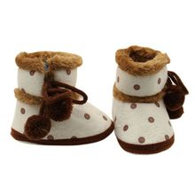 High Quality Infant Baby Non-slip Boots Winter Boots Soft Bottom Baby Moccasin Baby Warm Boots Baby Girls Boy Shoes cheap COTTON Snow Boots Cotton Fabric Flat with Cross-tied Mid-Calf Slip-On Unisex Round Toe Fits smaller than usual Please check this store s sizing info