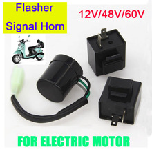 Indicator-Relay Flasher Scooter Motorcycle-Accessories Auto-Parts Electric 12V 48V