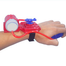 Wrist Squirt Long Range Summer Swimming Water Gun Toy for Children MINI Size Plastic Material Water Gun Outdoor Sports Fun Gift(China)