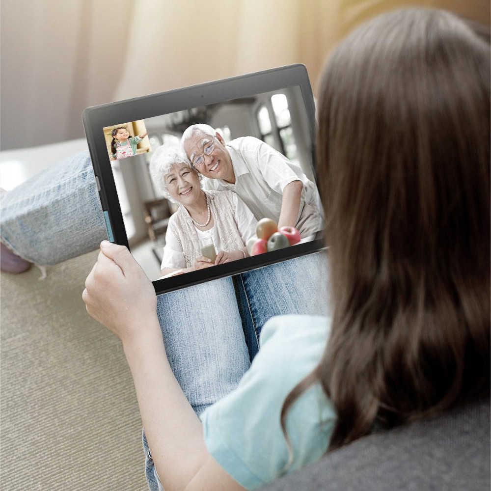 """Lenovo Tablet 10.1 """"HD מסך 2GB 16GB Dual מצלמה מחשב לוח כפולה סטריאו Dolby קול אפקט 4850mAh אנדרואיד 9.0 Wi-Fi"""
