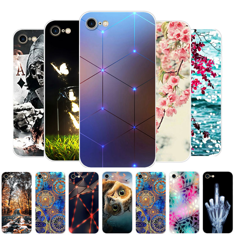 For Iphone SE 2020 Case Silicone Print TPU Soft Back Cover Phone Case For Apple Iphone SE 2020 Case 4.7
